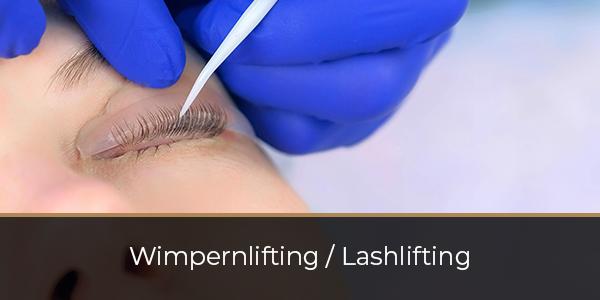 Wimpernlifting--Lashlifting